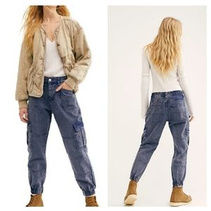 Free People Platoon Cargo Jogger Pants